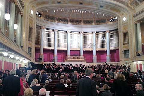 BBC Philharmonic, Wiener Konzerthaus, foto Boris Klepal