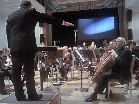 Petr Kotík, Janáčkova filharmonie, Bohemian National Hall, foto Boris Klepal