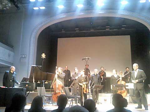 Joseph Kubera, Petr Kotík, Ostravská banda, Roulette, foto Boris Klepal