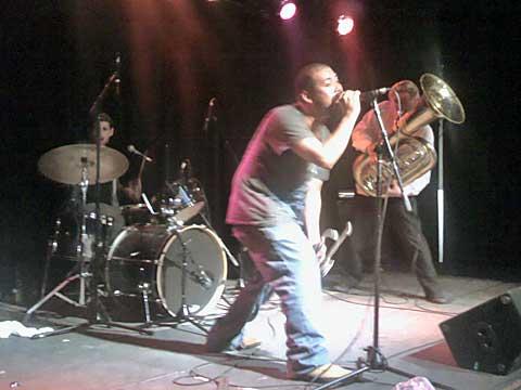 Stumblebum Brass Band, Littlefield, foto Boris Klepal
