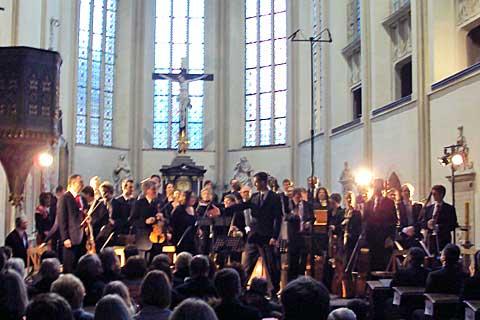 Ensemble Inégal, kostel sv. Jakuba, Boskovice. Foto Boris Klepal