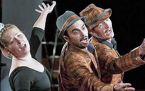 Carmen– Opera podle Fagi, foto archiv Divadelního světa