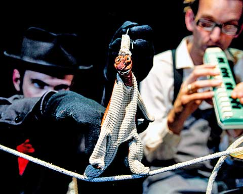 Suitcase Circus, foto archiv Folded Feather