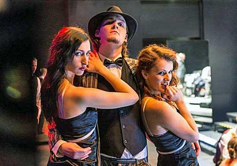 Taneční maraton na Steel Pier, foto archiv Divadla na Orlí