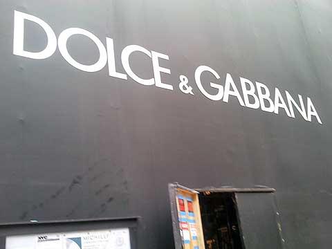 Dolce & Gabbana, 5th Ave, NYC, foto Boris Klepal