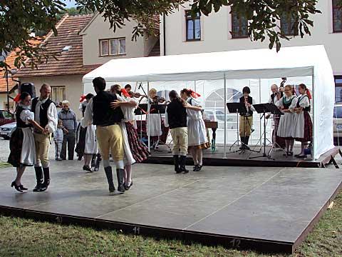 Folklorní soubor Drahan vLomnici, foto Boris Klepal