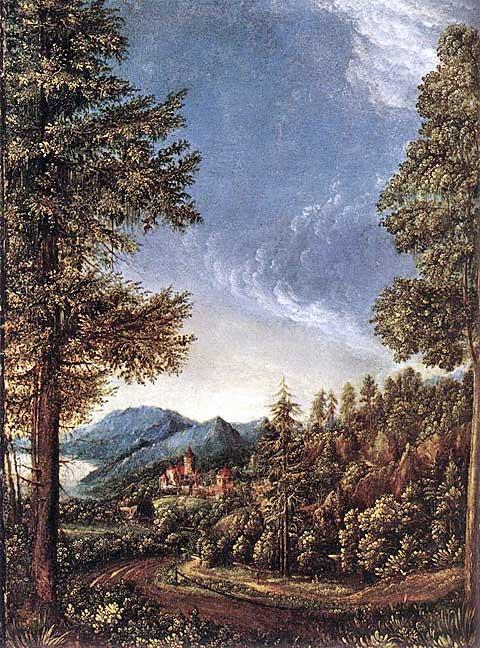 Dunajská krajina, Albrecht Altdorfer 1520–25
