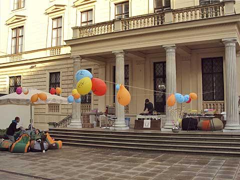 Pražákův palác, doprovodný program pro povzbuzení chuti, foto Boris Klepal
