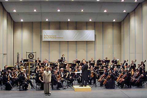 Soňa Červená, Leoš Svárovský, Filharmonie Brno. Foto Boris Klepal