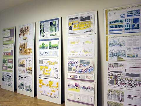 Výstava návrhů řešení Janáčkova náměstí, foto Boris Klepal