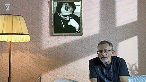 Josef Berg a jeho Snění, Miloš Štědroň, screenshot z filmu