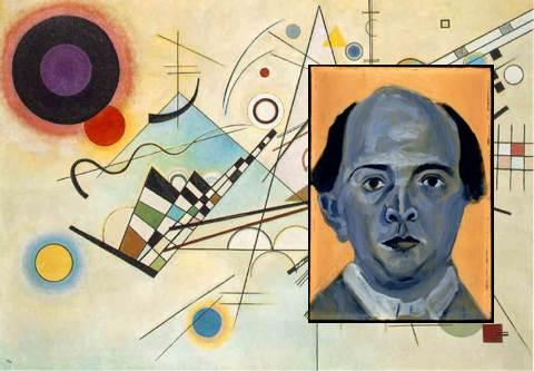 Kandinskij, Schönberg, koláž