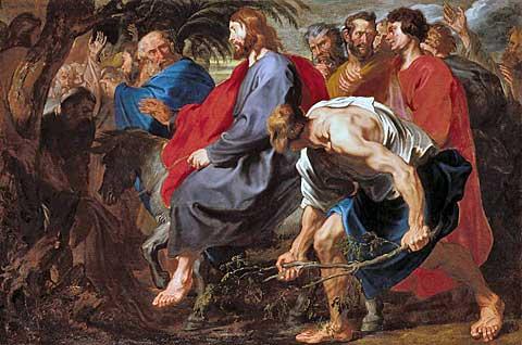 Kristův vjezd do Jeruzaléma, Anthony van Dyck