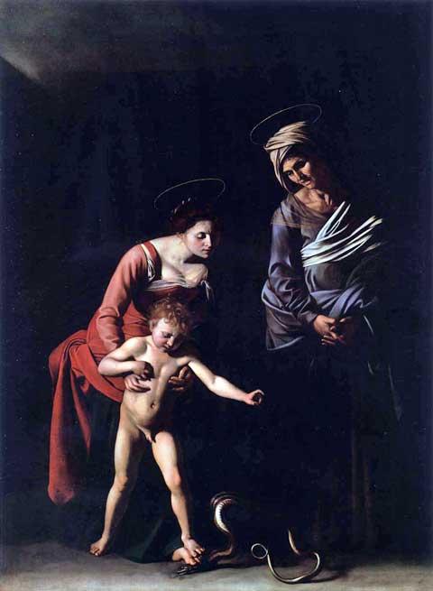 Madonna dei Palafrenieri, Caravaggio, 1606