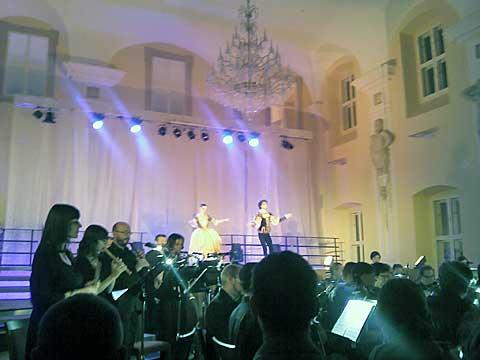 The Czech Baroque Orchestra, taneční skupina Hany Litterové