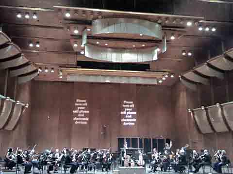 NY Philharmonic před koncertem, foto Boris Klepal