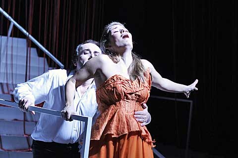 Orfeus, Eurydika, foto Hana Smejkalová
