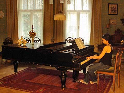 Hudební úvod, Elena Knápková, foto Boris Klepal