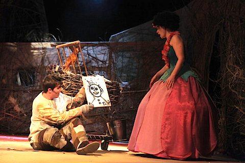 Papageno, Pamina, foto Jana Hallová
