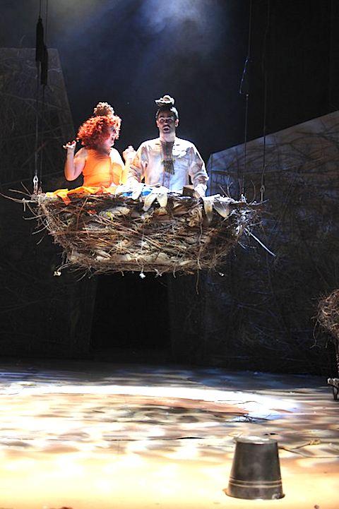 Papageno, Papagena, foto Jana Hallová