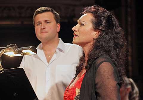Jorda Katarína Kramolišová aJosef Moravec, foto Jana Hallová