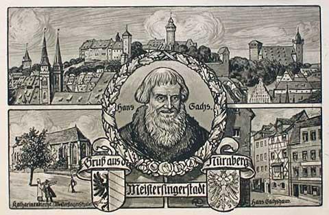 Hans Sachs, Norimberk