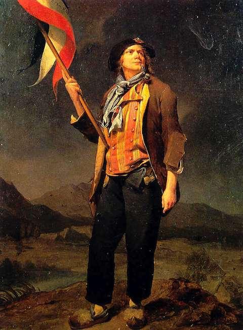 Sans-culotte, Louis-Léopold Boilly (1761–1845)