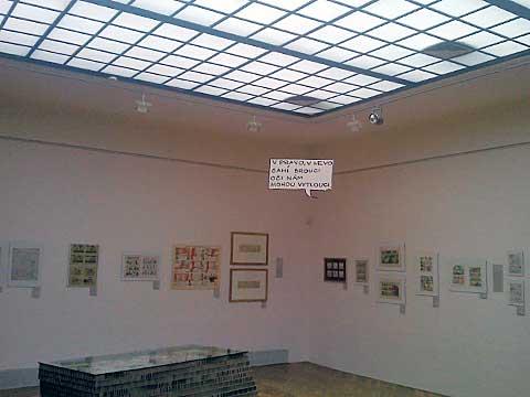 Pohled na část výstavy, foto Boris Klepal