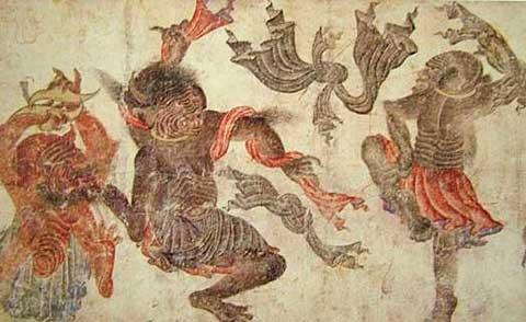 Siyah Kalem: Tančící démoni