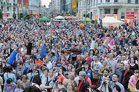 Slavnost masek, Divadelní svět 2013, foto archiv festivalu