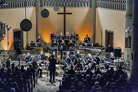 Brno Contemporary Orchestra, Tehilim, foto Petr Francán