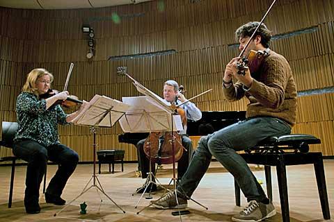 Nash Ensemble, zkouška, foto Jiří Sláma