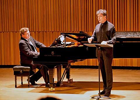 Wolfgang Holzmair aRussel Ryan, foto Jiří Sláma