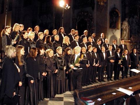 Český filharmonický sbor Brno, Petr Fiala, foto Boris Klepal