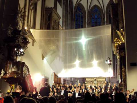 P. Vykopalová, K. Jalovcová, I. Markovič, P. Berger, I. Kusnjer, Filharmonie a Český filharmonický sbor Brno
