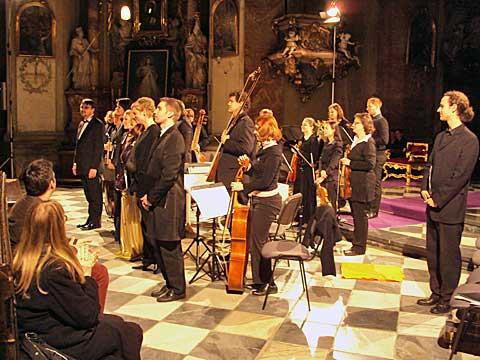 Hof-musici, kostel sv. Janů, foto Boris Klepal