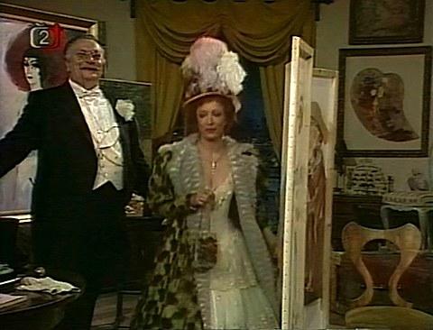 Angele, za pět minut budete hraběnkou aza tři měsíce kněžnou.
