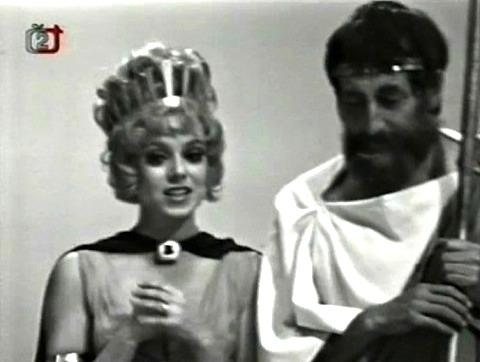 Ty tři bohyně, zlaté jablko ahlavně ten mladý pastýř... nevíš otom něco?