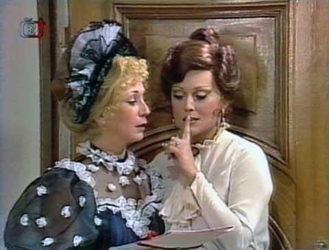 To ti povídám, Hortensie, diskrétně.