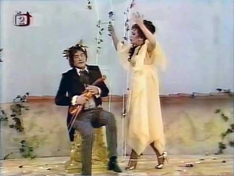 Nenávidím vás, vy houslový petrklíči! Madam, všechno– ale nedotýkejte se mých houslí!