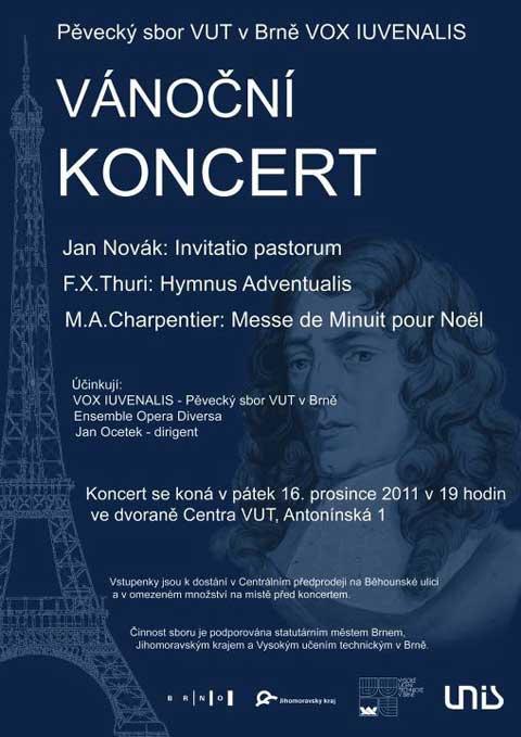 Vox Iuvenalis, Novák, Thuri, Charpentier