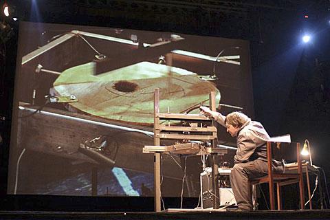 Winfried Ritsch awoodscratcher, foto Martin Polák