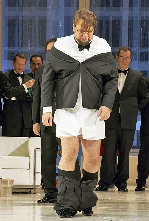 Sorin Coliban (Gorjančikov) © Wiener Staatsoper / Michael Pöhn
