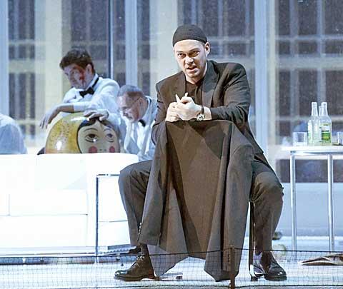 Christopher Maltman (Šiškov) © Wiener Staatsoper / Michael Pöhn