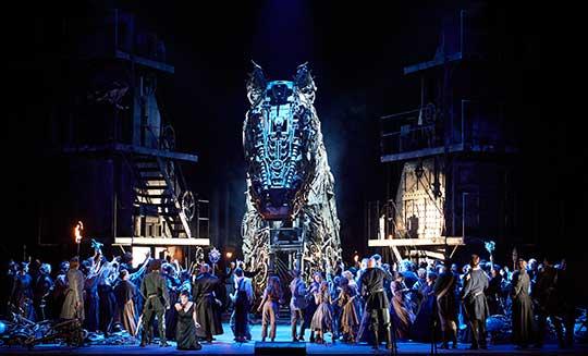 Trójané ve Vídeňské státní opeře. Foto © Wiener Staatsoper aMichael Pöhn