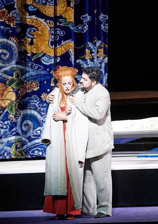 Lise Lindstrom, Jusif Ajvazov, foto © Michael Pöhn / Wiener Staatsoper