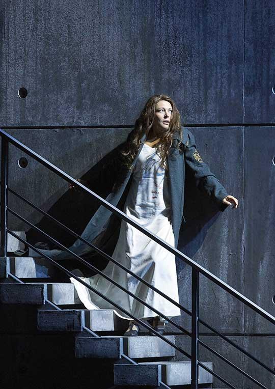 Tatiana Seran (lady Macbeth), foto © Wiener Staatsoper / Michael Pöhn