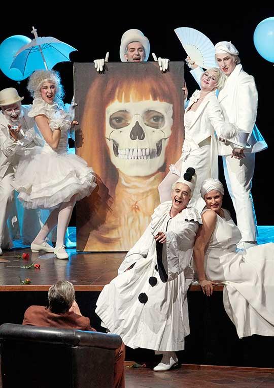 Mrtvé město, herecká skupina, foto © Wiener Staatsoper / Michael Pöhn
