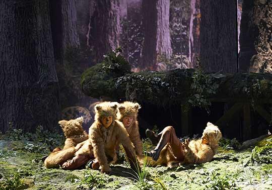 Příhody lišky Bystroušky, foto © Wiener Staatsoper / Michael Pöhn