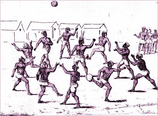 Aboridžinci hrají fotbal, zdroj wiki